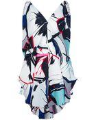 Balenciaga Gingko Print Dress - Lyst