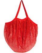 Echo Fishnet Beach Bag - Lyst