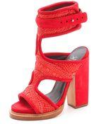 Monika Chiang Faiza Cuff Sandals - Lyst