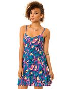 Hurley The Righteous Cami Fitted Dress - Lyst