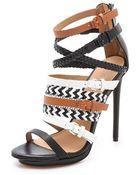 L.a.m.b. Jessie Strappy Sandals - Lyst