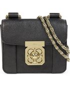 Chloé Elsie Small Leather Chain Shoulder Bag - Lyst