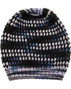 Missoni Wool Beanie Hat - Lyst