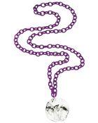 Burcu Okut Medal Necklace-Purple - Lyst