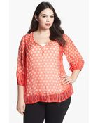 Lucky Brand Caley Tunic - Lyst