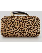 Vince Camuto Calf Hair Hornhandle Clutch Leopard Stylist Pick - Lyst