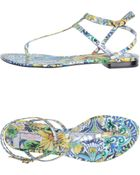 Dolce & Gabbana Sandals - Lyst