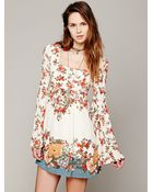Free People Womens Modern Chinoise Dress - Lyst