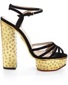 Charlotte Olympia Rising Star Strappy Sandal - Lyst