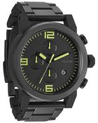 Nixon The Ride Sterling Silver Watch - Lyst