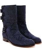 Laurence Dacade Rick Studded Suede Boots - Lyst