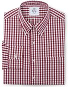 Brooks Brothers Black Fleece Long-Sleeve Button-Down Check Shirt - Lyst