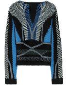Peter Pilotto Moleton Chunkyknit Woolblend Sweater - Lyst
