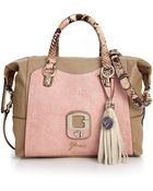 Guess Azadeh Small Box Satchel - Lyst