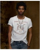 Denim & Supply Ralph Lauren Shortsleeve Lodge Chief Graphic Tshirt - Lyst