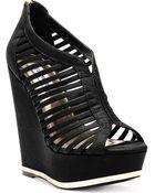 Steve Madden Wresse Platform Wedge Sandals - Lyst