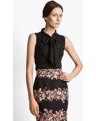 Dolce & Gabbana Stretch Georgette Blouse - Lyst