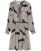 Diane von Furstenberg Tawney Chiffon Dress - Lyst