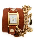 La Mer Collections Lucky Charms Wrap Watch - Lyst