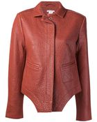 Carven Classic Collar Jacket - Lyst