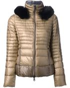 Duvetica Padded Jacket with Hood - Lyst