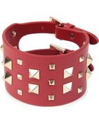Valentino Valentino Large Stud Bracelet - Lyst
