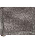 Giorgio Armani Bi-Fold Wallet - Lyst