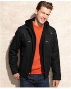 Calvin Klein Knit Hood Wool-blend Jacket - Lyst
