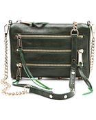 Rebecca Minkoff Mini 5 Zip Bag - Lyst