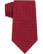 Tommy Hilfiger Circle Neat Tie - Lyst