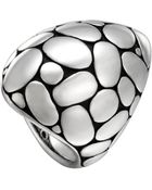 John Hardy Silver Kali Marquise Dome Ring - Lyst