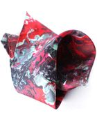 Mdgraphy Roses Pocket Square - Lyst