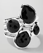 Ippolita Sterling Silver Rock Candy 4-Stone Ring In Black Onyx - Lyst