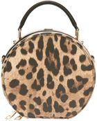 Dolce & Gabbana Leopard Print Shoulder Bag - Lyst
