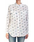 Equipment Slim Signature Printed Silk Shirt - Lyst