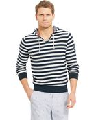 Tommy Hilfiger Stripe Hooded Sweater - Lyst