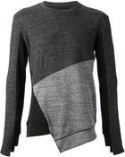 D.gnak By Kang.d Asymmetric Hem Sweater - Lyst