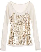 Victoria's Secret The Embellished Baseball Tee - Lyst