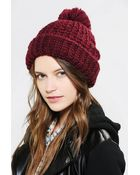 Urban Outfitters Coal The Kate Pom Beanie - Lyst