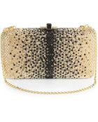 Judith Leiber Crystal-Embellished Large Ombre Convertible Clutch - Lyst