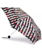 Lulu Guinness Doll Face Superslim Umbrella Doll Face Superslim Umbrella - Lyst