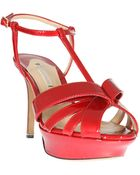 Nicholas Kirkwood  Patent Leather Sandals - Lyst