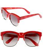 Wildfox Club Fox 54mm Sunglasses - Lyst