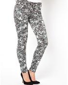 2nd Day Sally Crash Skinny Jeans - Lyst