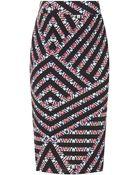 Topshop Maternity Printed Tube Skirt - Lyst