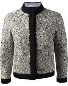 Giambattista Valli Embellished Tweed Jacket - Lyst
