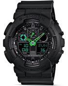 G-Shock Black Xl Case Analog-Digital Watch, 55Mm - Lyst
