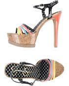 Jessica Simpson Platform Sandals - Lyst