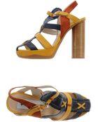 B Store Platform Sandals - Lyst