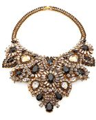Aerin Erickson Beamon Crystal Bib Necklace - Lyst